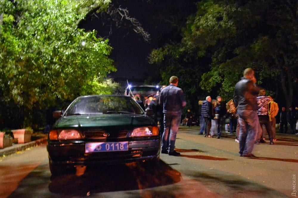 На митинг Саакашвили из Одессы выехали около 150 человек (фото)