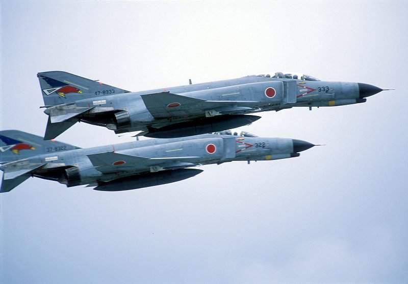 Истребитель ВВС Японии потерпел крушения при взлете
