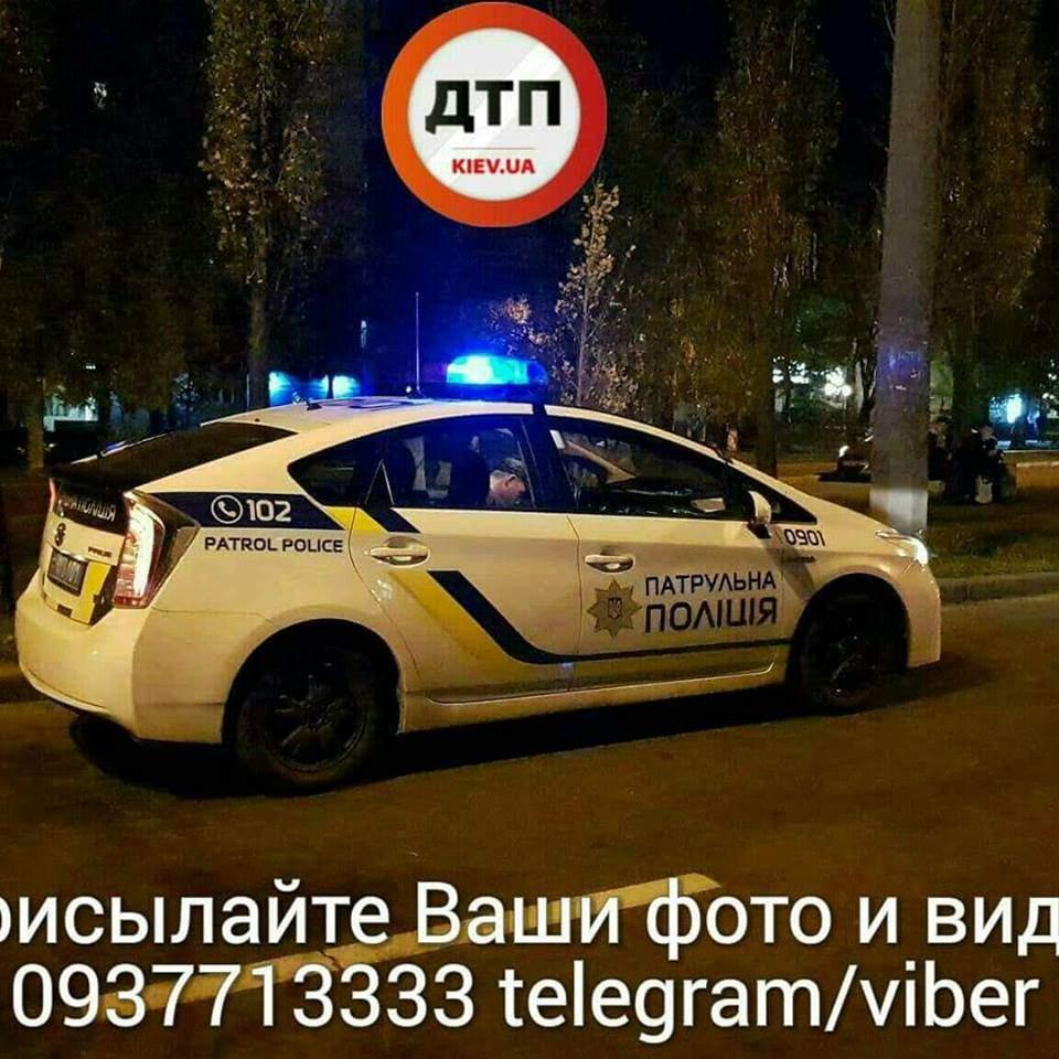 В столице сбили пенсионера-пешехода (фото)
