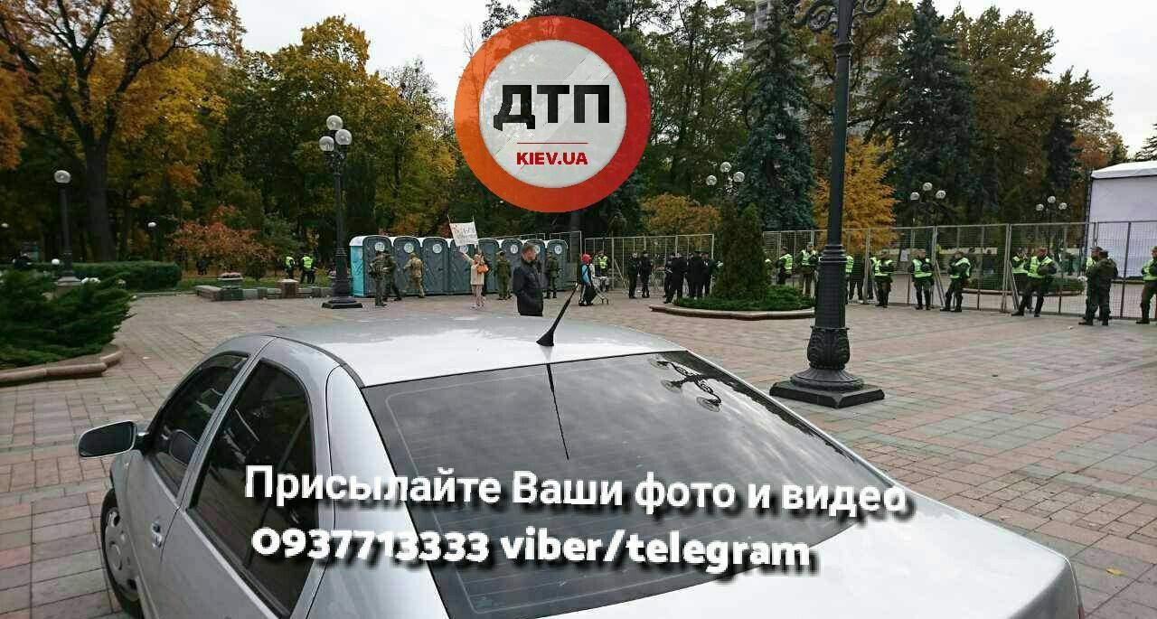 В ожидании вече: в Киеве под Верховной Радой