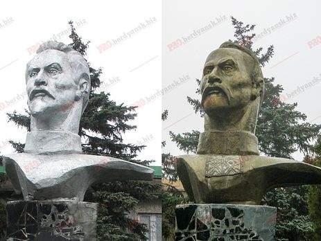 В рамках декоммунизации: в Бердянске бюст Дзержинскому