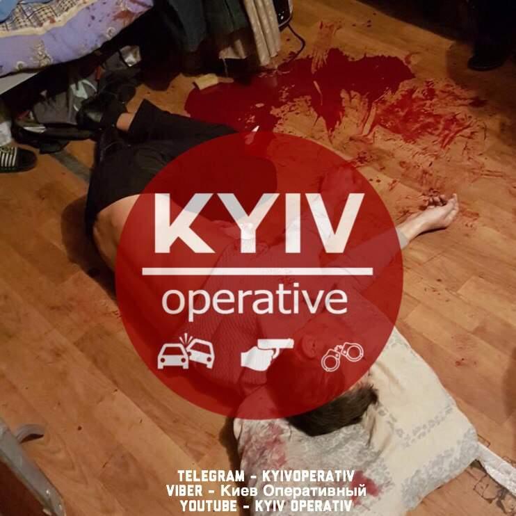 В Киеве пьяные посиделки закончились поножовщиной (фото)