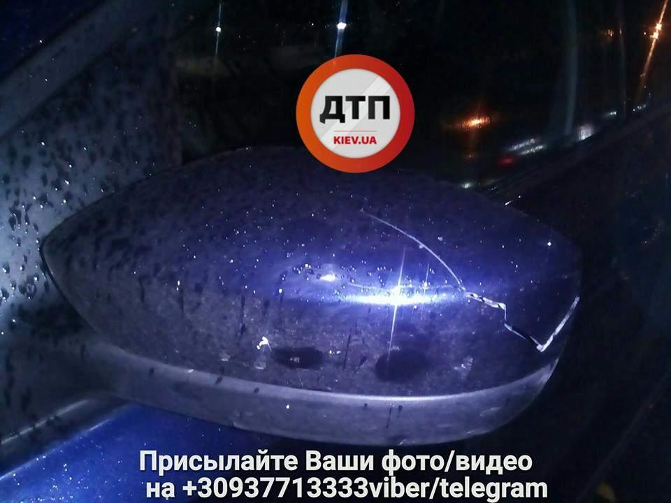 В Киеве произошло ДТП с пострадавшими из-за пьяного пешехода-нарушителя (Фото)