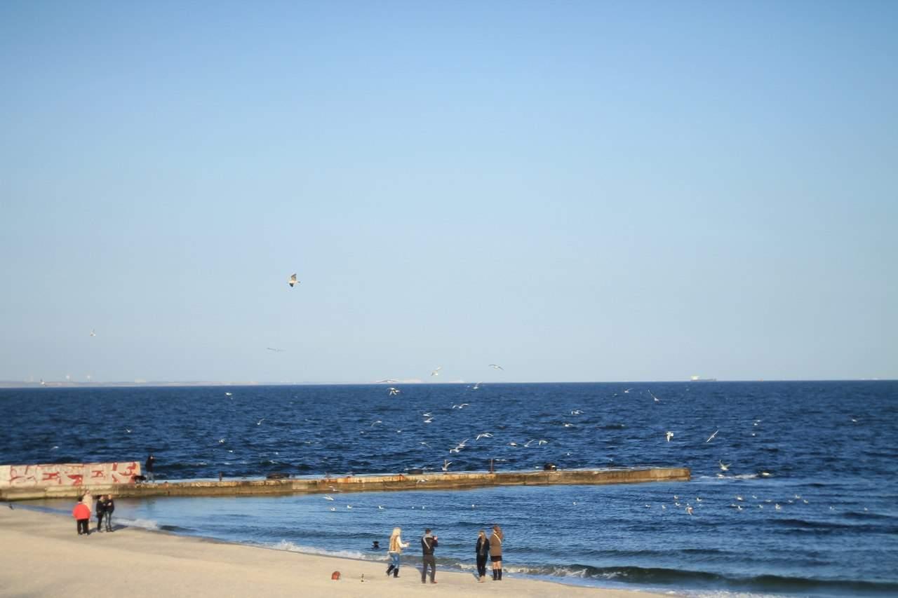 Воскресное утро в Одессе у моря (Фото)