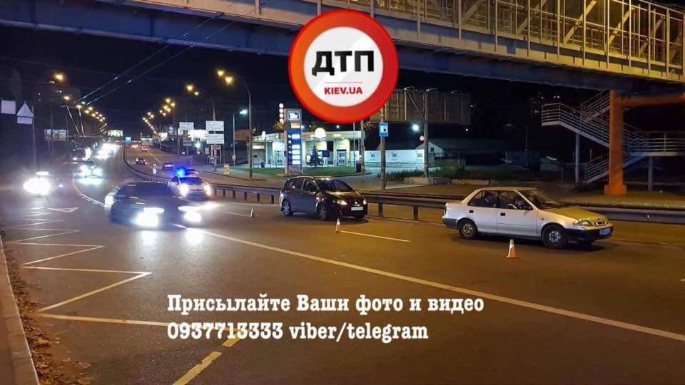 В столице сбит пешеход: хотел перебежать 6 полос (Фото)