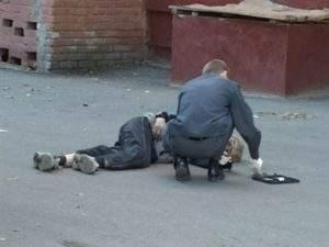В Тернополе посреди улицы был обнаружен труп человека