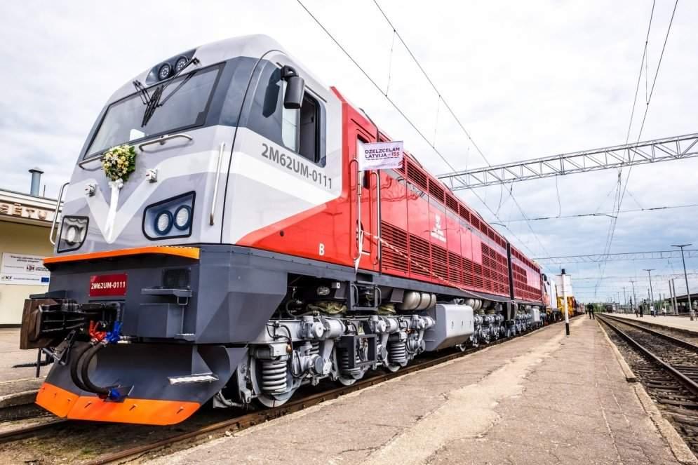 Латвия готова предоставить Украине в аренду несколько локомотивов