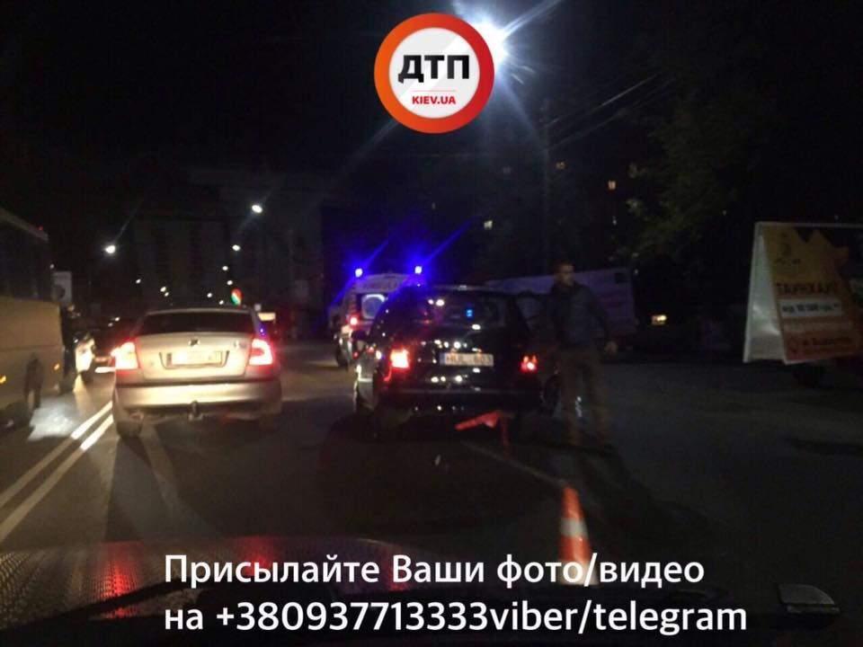 В Борисполе произошло ДТП с пострадавшими (фото)