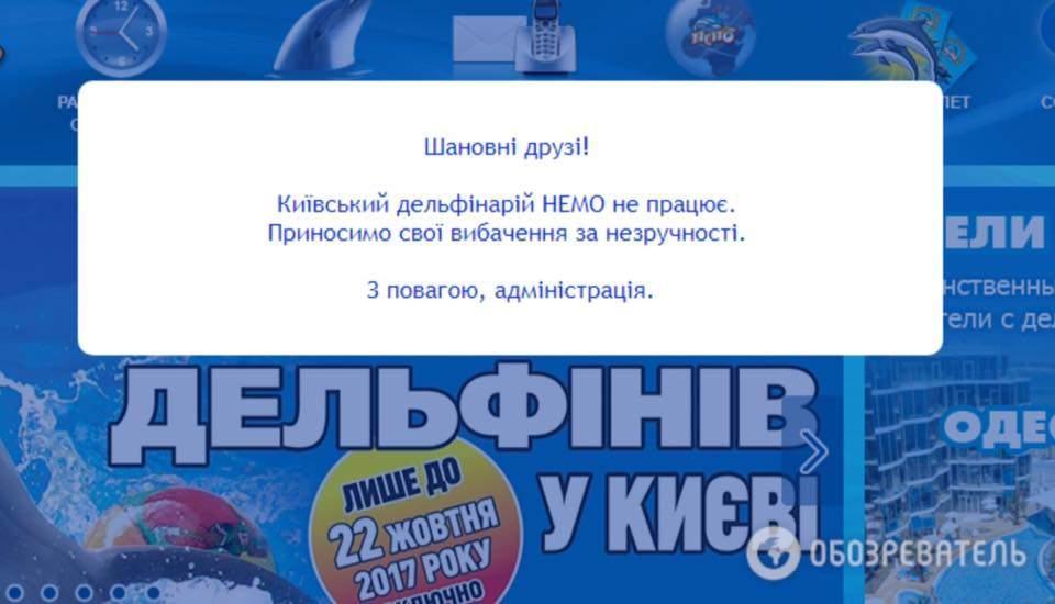 Скандально известный дельфинарий в Киеве окончательно закрыт