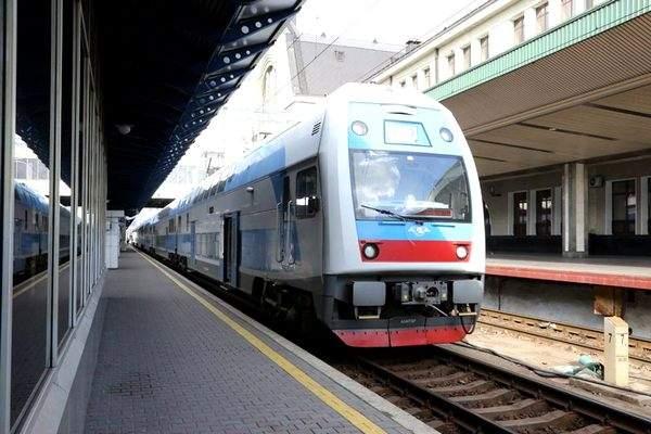 В Киеве сообщили о минировании пассажирского поезда