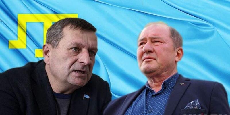 Порошенко встретил освобожденных крымскотатарских деятелей (Видео)