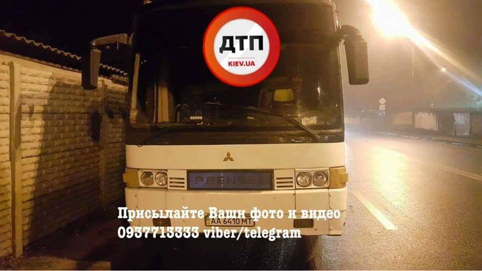 В столице произошло серьезное ДТП при участии автобуса (Фото)