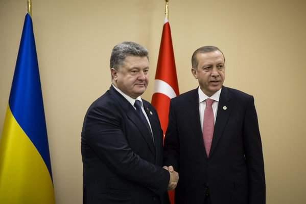 Президент Украины поздравил Турцию с Днем провозглашения Республики