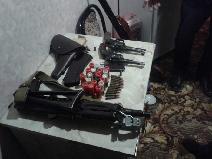В Полтавской области разоблачили незаконных торговцев оружием (Фото)