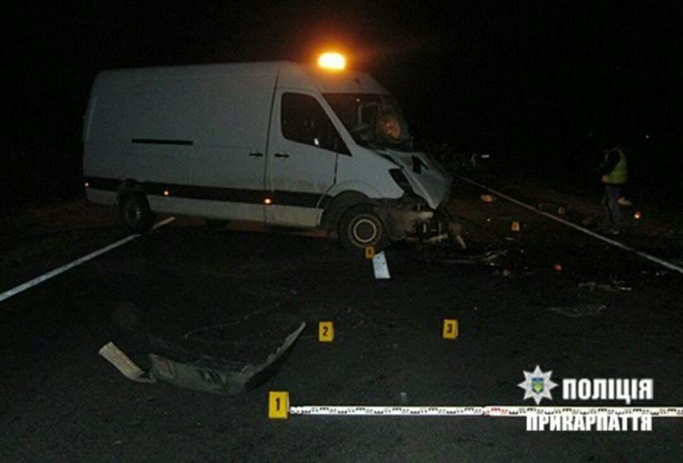 В Ивано-Франковской области произошло жуткое ДТП. Трое человек погибли (Фото)