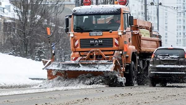 В Киеве готовятся к ликвидации последствий снегопадов