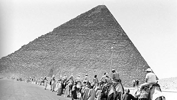 В пирамиде Хеопса археологи обнаружили помещение размером с самолет
