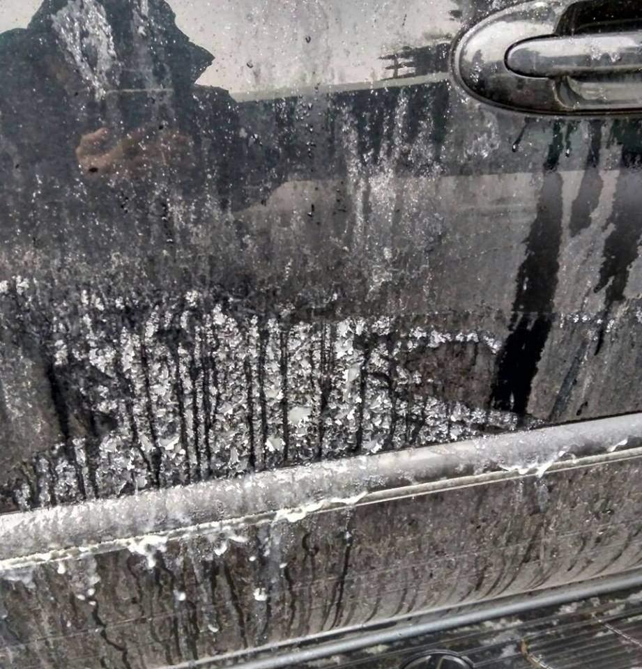 В Харькове автомобиль депутата облсовета от партии