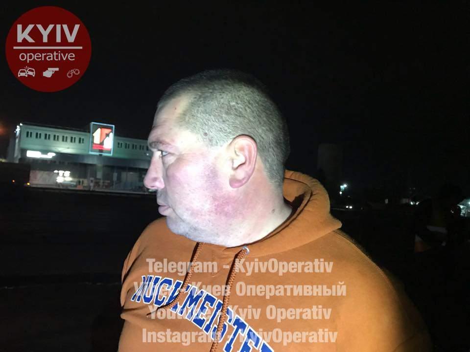 В столице задержали мужчин с боеприпасами из зоны АТО (Видео)