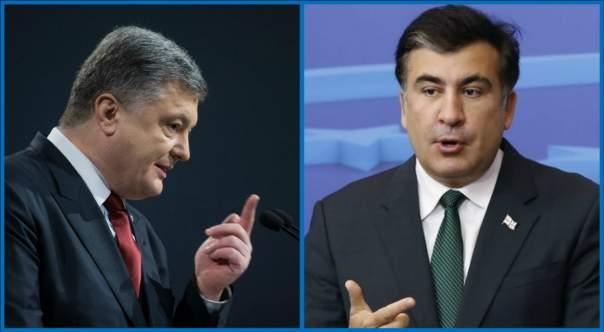 Саакашвили заявил о шантаже о стороны Порошенко (Видео)