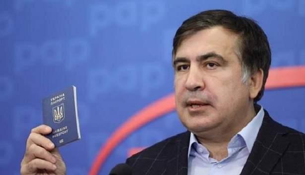 Саакашвили получил документ о легальном пребывании на территории Украины (фото)