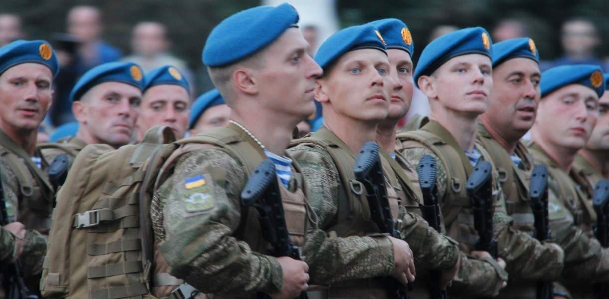 В Украине переносят празднование Дня ВДВ