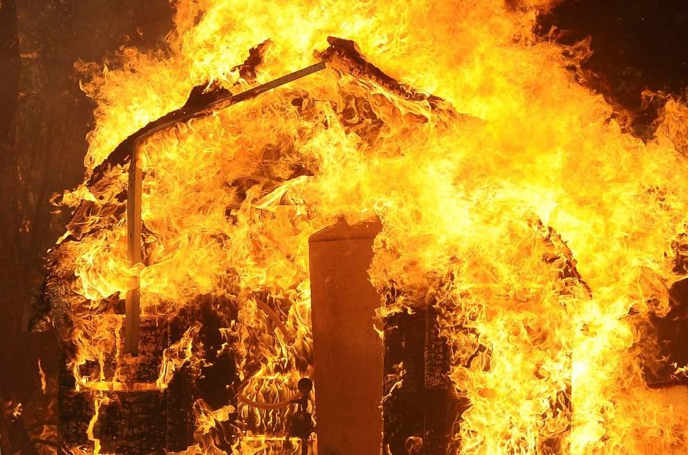 В Запорожской области в собственном доме сгорел мужчина