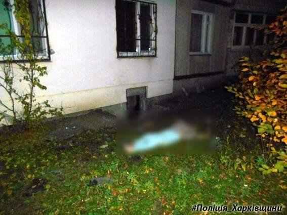 Пожилой харьковчанин на глазах у жены совершил жуткое самоубийство (Фото)