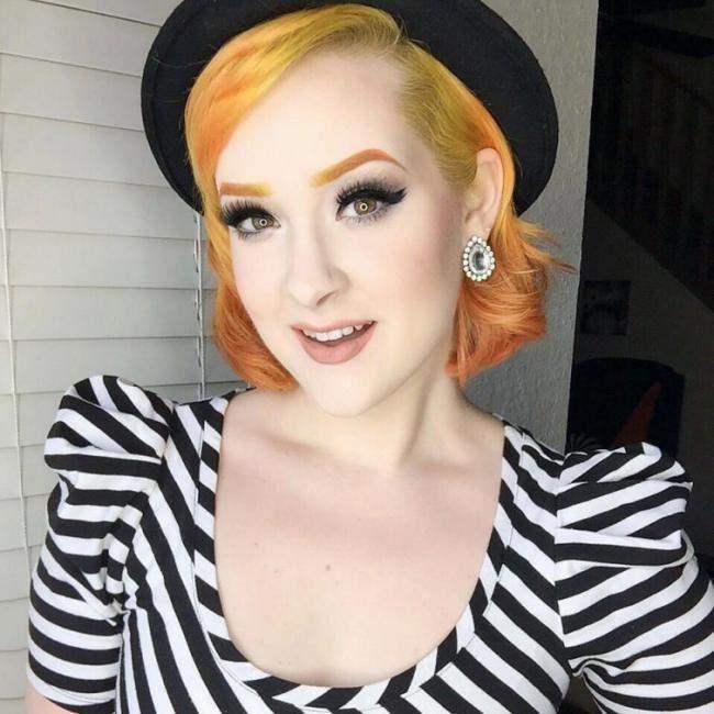 Цветные брови стали новым трендом (Фото)