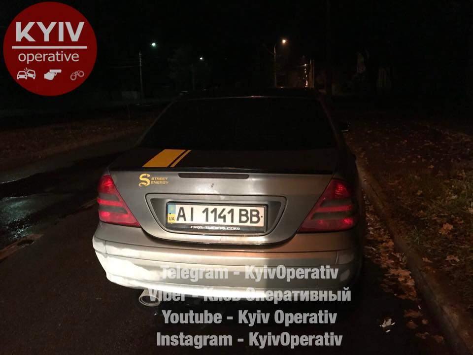 В столице нетрезвый водитель пытался сбежать от патрульных (Видео)
