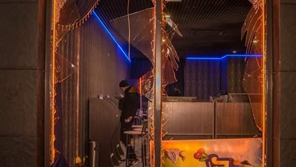 В Киеве хулиганы пытались уничтожить игорное заведение и оставили
