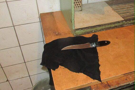 Киевлянин ударил брата ножом, защищая мать (Фото)