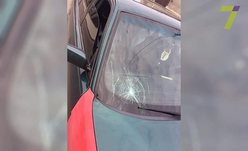 В Одессе водитель сбил женщину и сбежал (Фото)