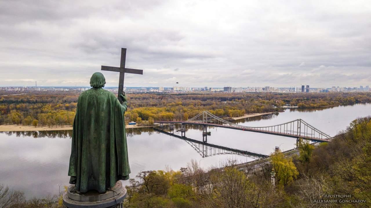Завораживающие снимки столицы с высоты (Фото)