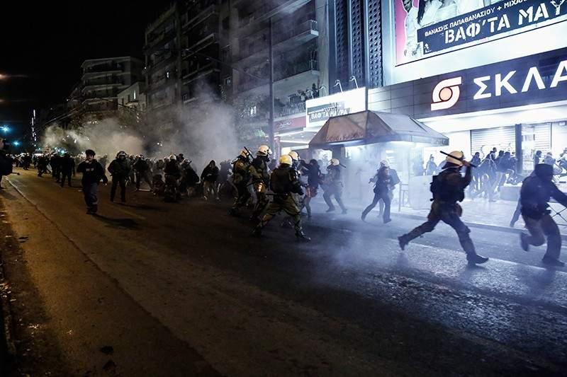 В крупных городах Греции произошли студенческие беспорядки