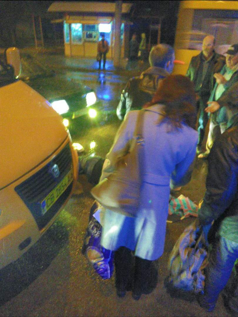 В Чернигове сбили пенсионерку-нарушительницу ПДД (фото)