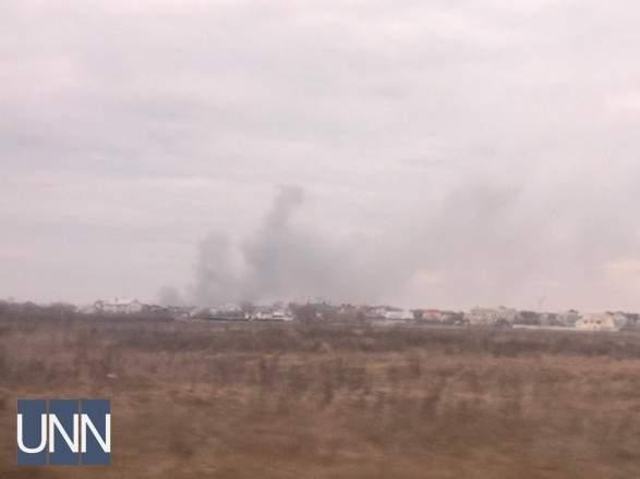 В Черкасской области горел еврейский квартал (фото)