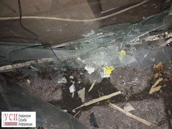 В Одессе неизвестные кинули петарду в МАФ (фото)