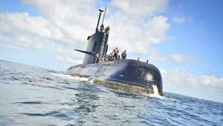 В зоне пропавшей подводной лодки в Аргентине заметили сигнал