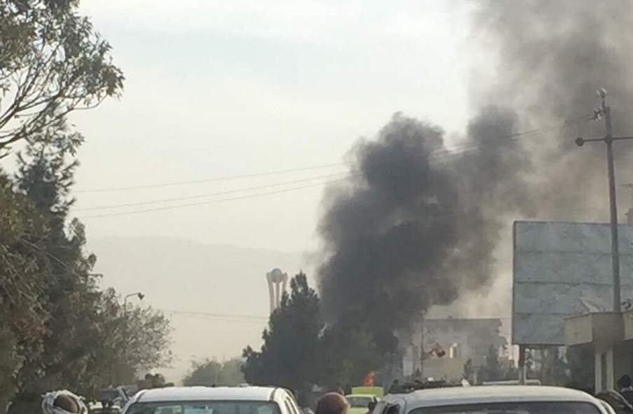 В Афганистане террорист привёл в действие магнитную бомбу (фото)