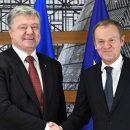 Известны детали переговоров Порошенко с президентом Европейского Совета