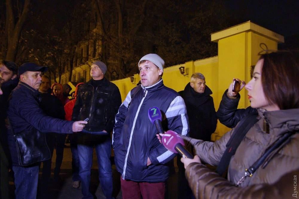 В одесском Горсаду состоялся митинг (Фото)