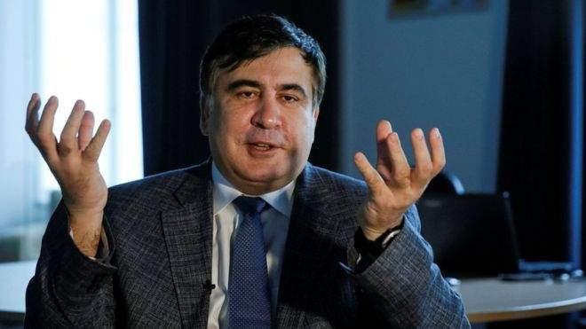 Саакашвили заявил, что на Деревянко «черная метка» от Порошенко