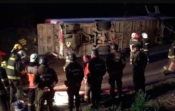 В Чили в результате жуткой аварии погибло 11 человек
