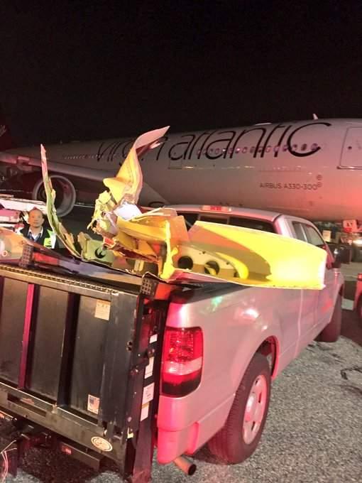 В аэропорту Нью-Йорка произошло ЧП (фото)