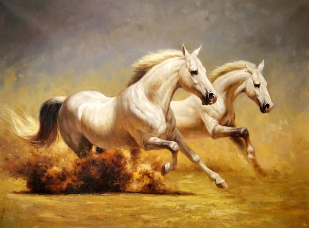 Картины с лошадьми – must-have этого года