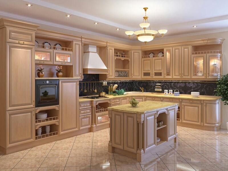 Волшебное преображение старых кухонь