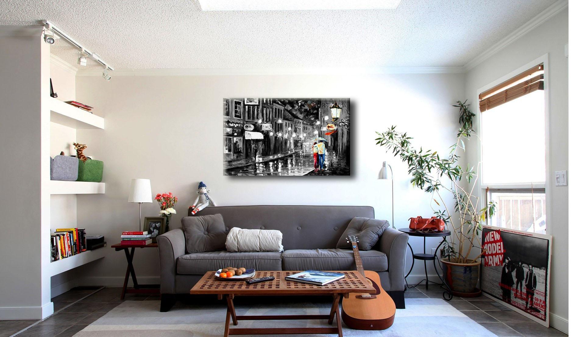 Как оформить интерьер картинами и фотографиями?