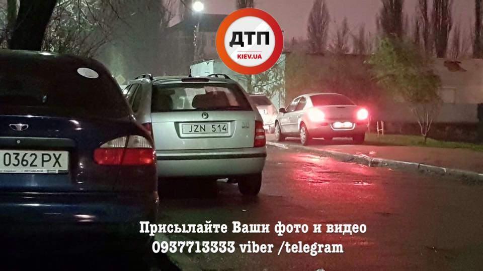 В Киеве избили водителя в результате конфликта с полицейскими (Фото)