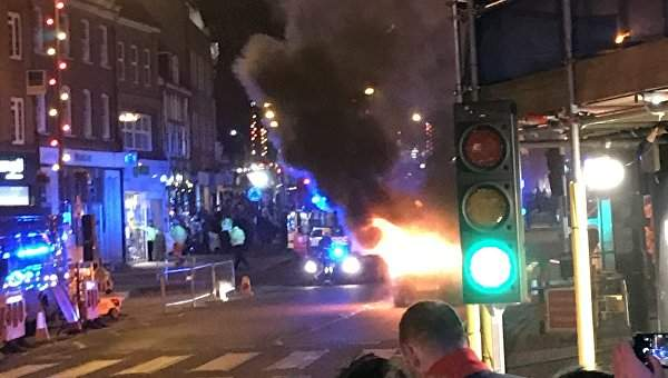 В Великобритании раздался мощный взрыв (Фото)